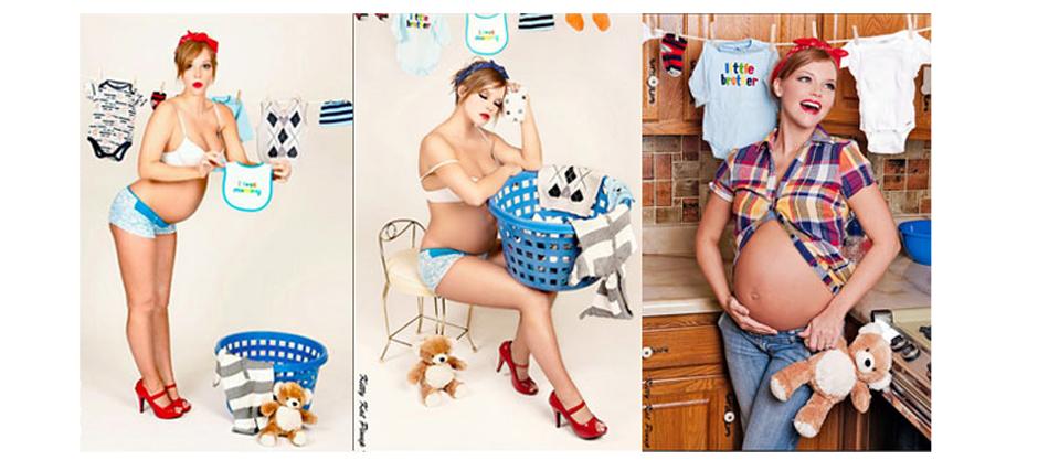 Необычные идеи для беременных 41