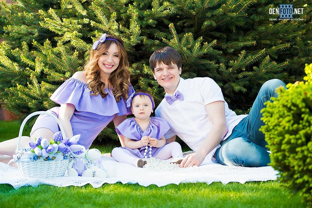 Семейное фото на природе фото 291-383